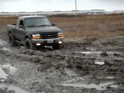 Ford Mudding 4x4 Ford Ranger Offroad Mud Slip Amp