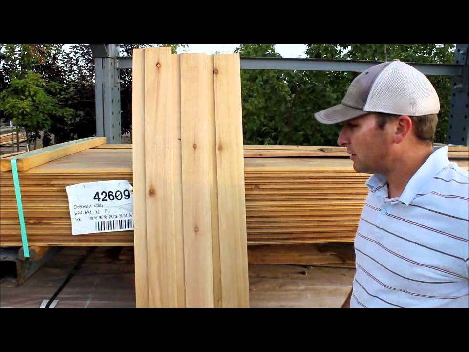 Cedar Siding And Paneling By Mywoodproject Com Youtube