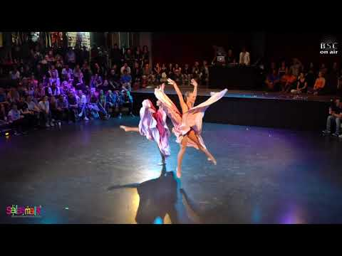 Elena and Viktoria (Kiev) Stargate Show (BERLIN SALSA CONGRESS 2018)