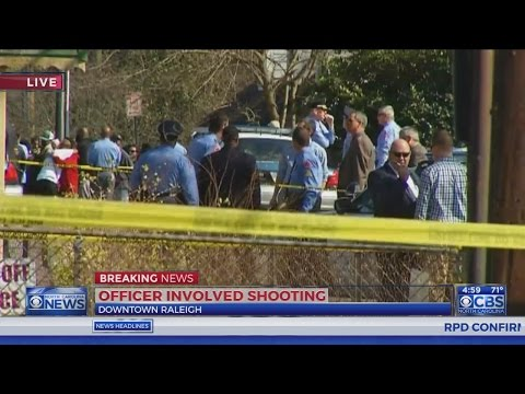 Raleigh police investigate deadly officer-involved shooting
