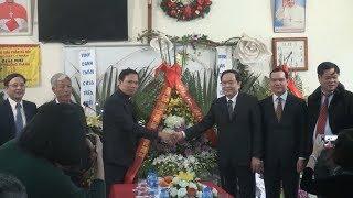Đồng chí Trần Thanh Mẫn chúc mừng Lễ Giáng sinh tại Hà Nam