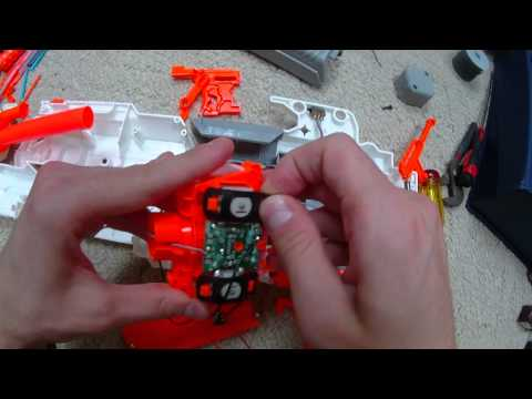 The ULTIMATE Nerf Modulus ECS-10 Mod Guide (Rewire. Lock Removal. Voltage Upgrade)