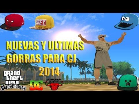 GTA San Andreas: ULTIMAS Y DEFINITIVAS GORRAS PARA CJ 2014 Agosto(Chicago Bulls, DC, OBEY etc.)