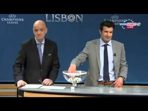 UEFA Champions League ~ Draw of the Quarter Finals 2013-2014 - FULL HD