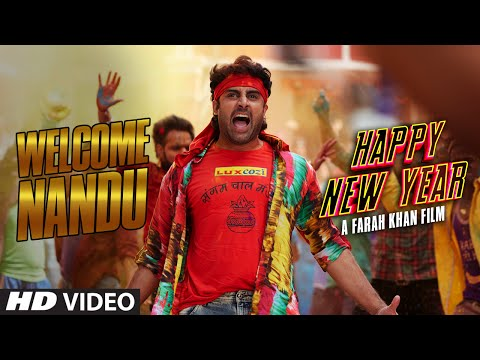 WELCOME NANDU! HNY Official Dialogue Promo   Deepika Padukone, Shah Rukh Khan, Abhishek Bachchan