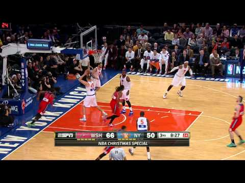 Wall and Beal Give the Wizards a Christmas Day Win Over Knicks