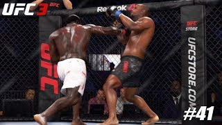 EA Sports UFC 3 - PS4 Pro 1080p 60fps match / Kimbo Slice vs Daniel Cormier #41