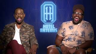 Sterling K. Brown & Brian Tyree Henry Passed Out On Set | HOTEL ARTEMIS