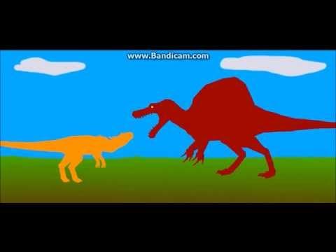 Spinosaurus Vs Saurophaganax