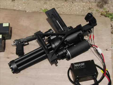CAW M134 Minigun Airsoft
