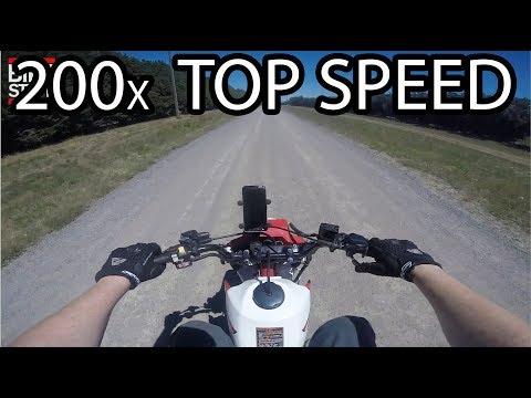 1986 Honda ATC 200x Top Speed - GPS