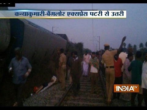 Train Accident: Kanyakumari-Bangalore Express Train Derails, 10 Injured
