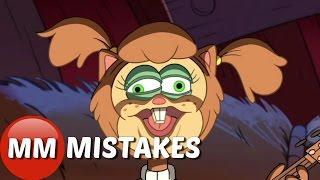 Gravity Falls Soos and The Real Girl Cartoon Movie | Gravity Falls Goofs