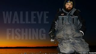 Trying To Catch Walleyes! (Thin Ice)