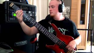 NE OBLIVISCARIS - Painters of the Tempest (BASS playthrough)