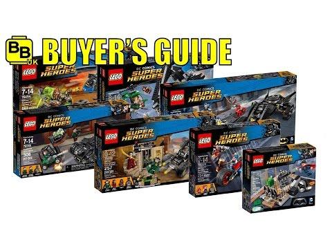 LEGO 2016 DC BATMAN SETS BUYER'S GUIDE