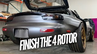 Are you going to finish the 4 Rotor RX-7?? What's being done to it