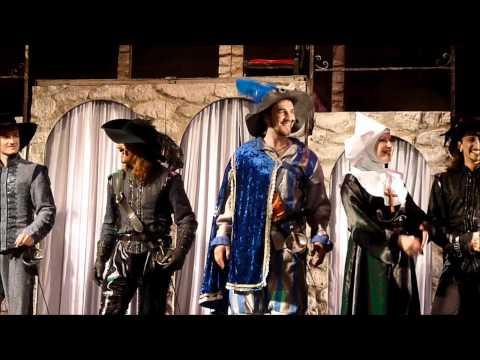 Три мушкетера. поклоны