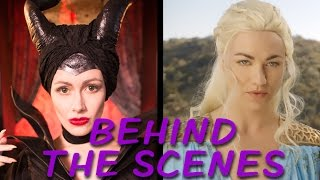MALEFICENT vs DAENERYS Behind the Scenes (Princess Rap Battle)