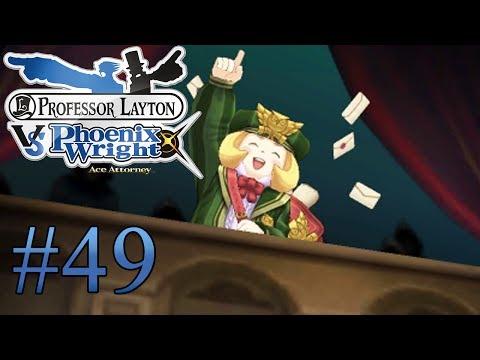 Let's Play Professor Layton Vs. Phoenix Wright Ace Attorney #49 Ein Brief. der Schlüssel zum Fall?