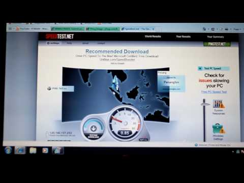 Packet One Networks WiMax SpeedTest