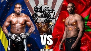 Badr Hari vs. Errol Zimmerman - Highlights | Хари vs. Зиммерман