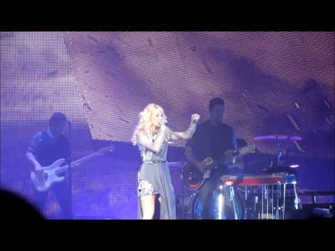 carrie underwood blown away live in k-rock centre 2013
