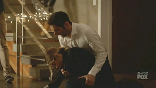 Lucifer 2x13 Chloe Collapses- Loses conciousness Season 2 Episode 13