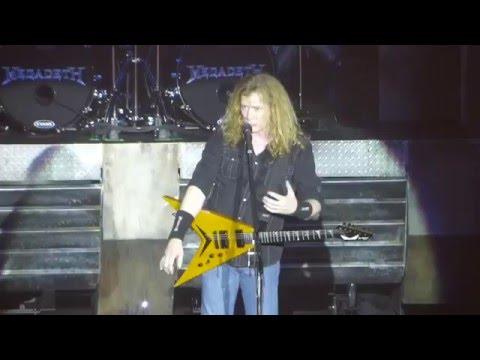 """Post American World"" Megadeth@Sands Bethlehem PA Event Center 3/19/16"