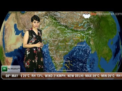 08/05/14 - Skymet Weather Report for India
