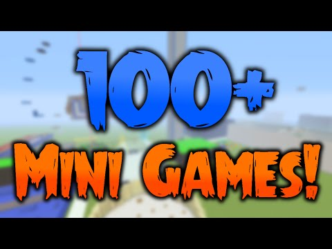 100+ Mini Games!!! IN ONE WORLD!!!