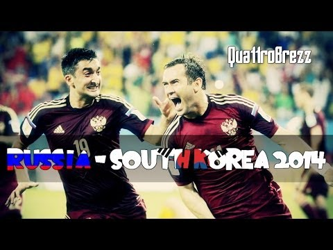 Russia - South Korea / World Cup 2014 / Group Stage / All highlights & goals / HD / by QuattroBrezz