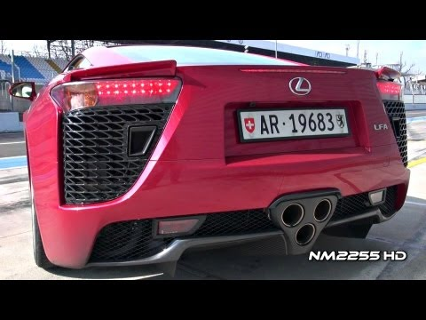 Lexus LFA V10 Exhaust Revs - Amazing Sound!!