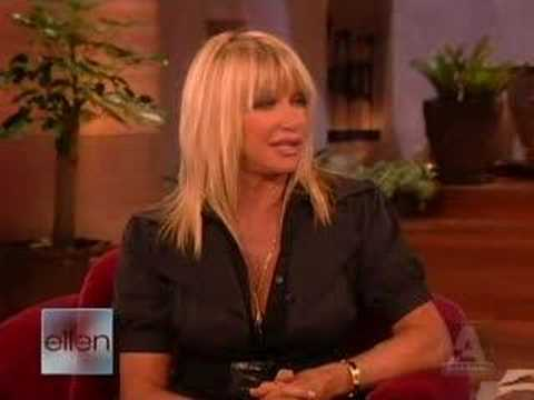 Suzanne Somers on Ellen