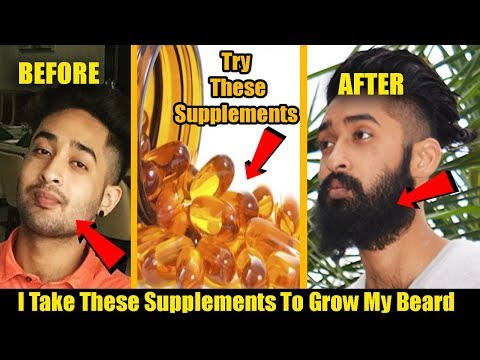 I Take These Supplements To Grow My Beard | How to Grow Beard | Homemade Tips in Hindi |