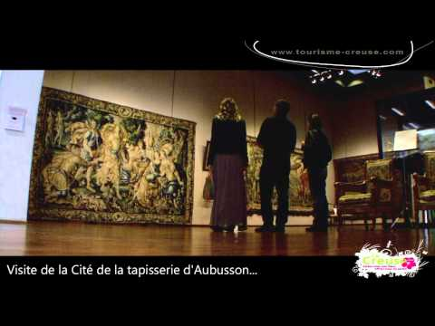 Aubusson et la Cité Internationale de la Tapisserie - Creuse