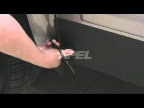 Xpel Black Rocker Panel Guard Installation Video Youtube
