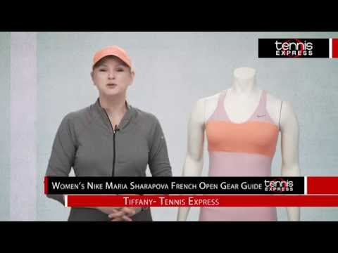 Maria Sharapova 2014 French Open Gear Guide - Tennis Express