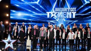 The Missing People Choir get their message across | Auditions Week 1 | Britain's Got Talent 2017