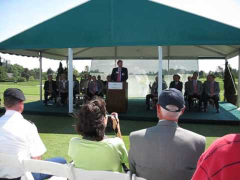 60 Seconds Ohio: Golfing great Raymond Floyd makes remarks at the 2013 Memorial Tournament