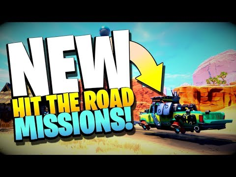 NEW! HIT the ROAD Missions in Fortnite Save the World PvE