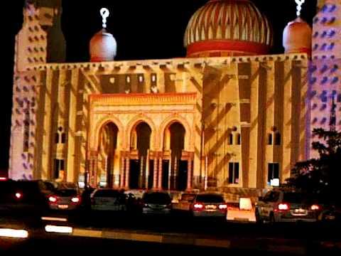 Sharjah Light Fest Khorfakkan 2013 video