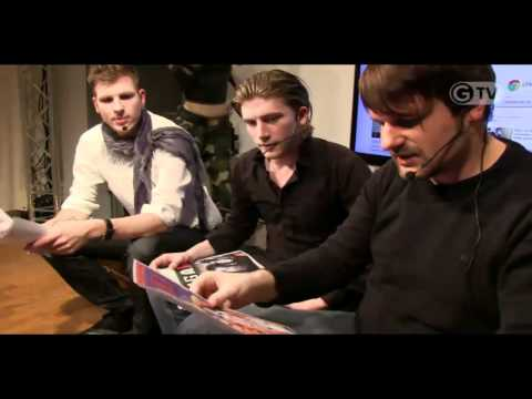 Gronkh und Sarazar bei Giga Live [ HD ] - 17.11.2011 ( Gronkh u. Sarazar im Interview ) Music Videos