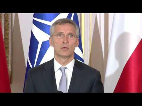 "Stoltenberg: NATO faces ""more dangerous world"""