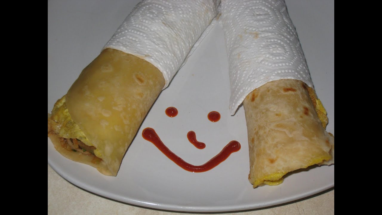Indian egg roll recipe - YouTube