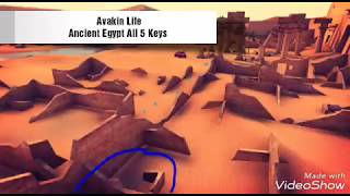 Avakin Life - Ancient Egypt - All 5 keys and Grand prize 12.12 MB