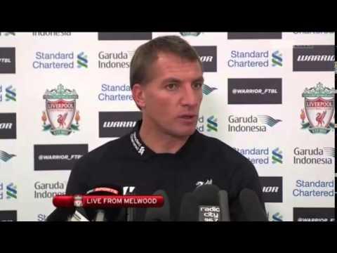 Brendan Rodgers Pre Aston Villa Press Conference