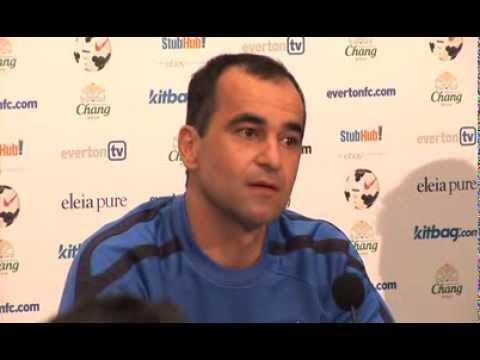 Roberto Martinez discusses Romelu Lukaku and Ross Barkley