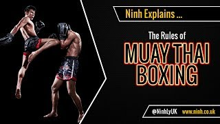 The Rules of Muay Thai Boxing - EXPLAINED!