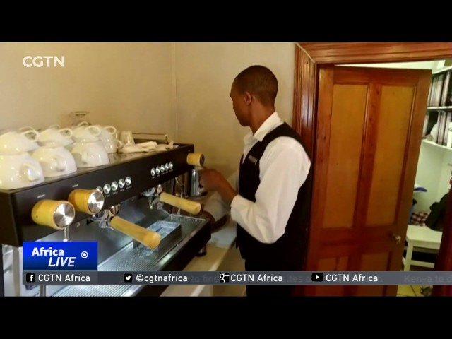 Blind barista makes sensational coffee in South Africa